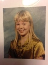 With those bangs and that silk green shirt, I was the definition of cool.