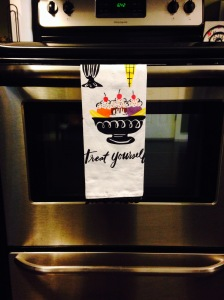"Love My ""Treat Yourself"" Tea Towel From ModCloth.com"